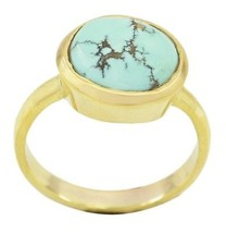 captivating Turquoise Gold Plated Multi Ring supplies US gift - €8,45 EUR