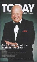 DON RICKLES & THE STING IN THE ZING TODAY Magazine Jan 2013 - $4.95