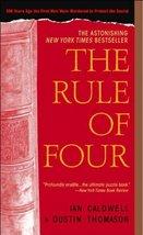 The Rule of Four Caldwell, Ian and Thomason, Dustin - $1.24