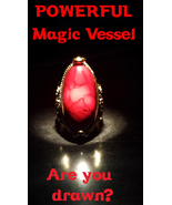 HAUNTED RING, voodoo ring, magick, djinn, rare and powerful talisman, genie - $127.97