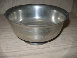 Josten Pewter Pedestal Bowl Paul Revere Reproductions Made In England - $9.95