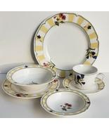 (1) 6 Pc. Homecraft by Noritake Summer Estate 9212 Dinnerware Place Set ... - $56.09