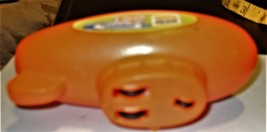 Nickelodeon Vintage 1999 BURGER KING MOTORIZED WIND UP ORANGE BLIMP image 3