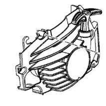 310502001 - Homelite, Craftsman Starter Cover Assembly Genuine OEM New part - $29.99