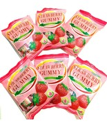 Cocon Strawberry Gummy  With Fruit Juice 3.52 oz ( Pack of 6 ) - $24.74