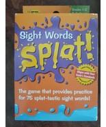 TEACHER CREATED RESOURCES SIGHT WORDS SPLAT GR 1-2 - $19.00