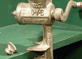 Hibbard Spencer,  Bartlett and Company Chicago, USA # 7 O-V-B Food Chopper  AA20 image 3