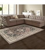 Superior Glendale Collection Brown Oriental Design 8' x 10 ' Area Rug 8m... - $114.95