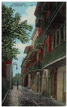 Pirate's Alley or Orleans Alley to Cabildo Jail, New Orleans, Louisiana ... - $12.82