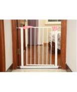 New Model Swing Closed Security out/in door Gate for Infant kid toddler - $175.55+