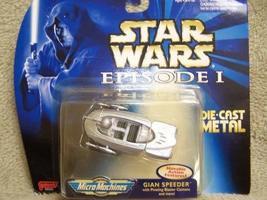 Star Wars - Episode 1 - Gian Speeder - Micro Machines - Die Cast Metal - Galoob  - $9.99