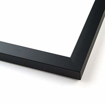 42x18 Black Wood Picture Frame - with Acrylic Front and Foam Board Backing - $62.14