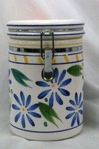 Certified International Corp Blue Flowers Sugar Canister - $10.39