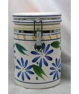 Certified International Corp Blue Flowers Sugar Canister - $9.44