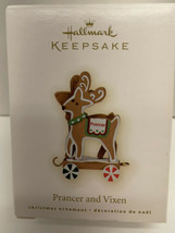 Hallmark Keepsake Ornament 2009 Prancer and Vixen - - $7.87