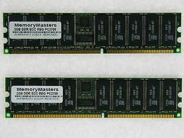 4GB 2X2GB MEMORY FOR HP PROLIANT DL145 DL360 G4 DL585 ML150 G2