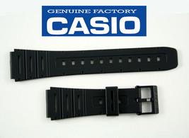 CASIO WATCH BAND BLACK CA-53W W-720 W-520U CA-61W DB-57 - $12.95