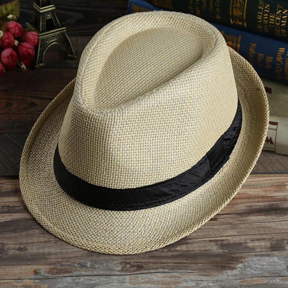 grass Fashion sun hats Foldable womens sunhats women's hat Summer Beach Floppy C image 4