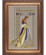 Celtic Autumn cross stitch Lavendar & Lace Marilyn Leavitt-Imblum - $14.40