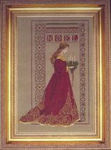 Celtic Christmas cross stitch Lavendar & Lace Marilyn Leavitt-Imblum - $12.60