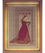 Celtic Christmas cross stitch Lavendar & Lace Marilyn Leavitt-Imblum - $12.60