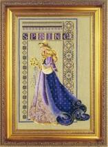 Celtic Spring cross stitch Lavendar & Lace Marilyn Leavitt-Imblum - $12.60