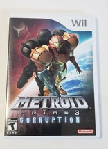 Metroid Prime 3: Corruption - Nintendo Wii Video Game CIB Complete - $12.82