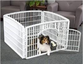 Pet Playpen For Small Dogs Plastic Pets Indoor ... - $75.95