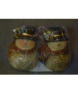 Snowman Snowmen Ceramic Christmas Salt Pepper Shaker - $3.99