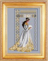 Celtic Winter cross stitch Lavendar & Lace Marilyn Leavitt-Imblum - $14.40
