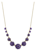 Michal Negrin Brass Necklace Swarovski Crystals  #100171780009 - $167.31