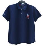 Polo Ralph Lauren Women's 100% Cotton Classic-Fit Polo Shirt, Navy Size M - $49.49