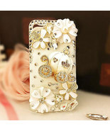 3D Luxury Bling Crystal Cinderella's Pumpkin Cart Stone Case For iphone ... - $19.99