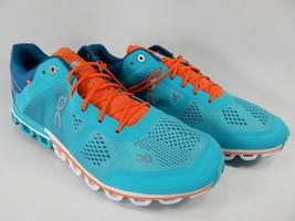 On Running CloudFlow Size US 10 M (B) EU 42 Women's Running Shoes Orange Teal