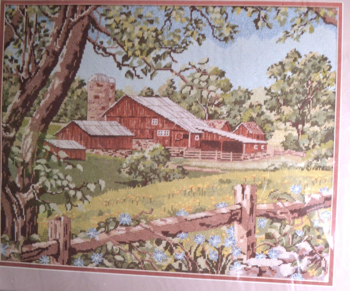 #3031 Needlepoint-Something Special 30576-Summer Scene Farm-Candamar--RARE