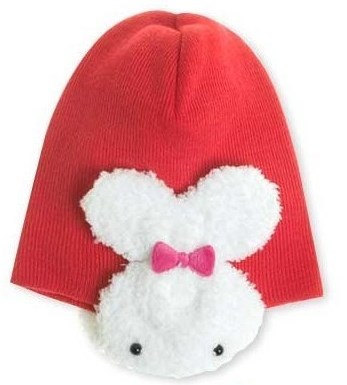 Lovely Cute Baby Hat With White Rabbits On The Side 100% Cotton Very Soft and Co image 4