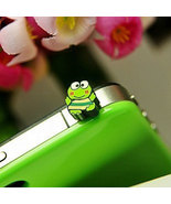 Cute Frog Panda Style Dustproof Anti Dust Plugs Cap Earphone Jack 3.5mm ... - $5.00