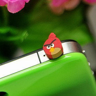 Cute Frog Panda Style Dustproof Anti Dust Plugs Cap Earphone Jack 3.5mm for iPho image 2