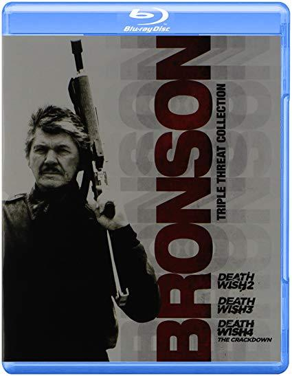 Bronson Triple Threat Collection: Death Wish 2-4 (Blu-ray)