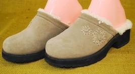 "UGG Austraila ""Solvang"" Sheepskin Sherpa Lined Mules Clogs Shoes US Sz 7... - $1.174,50 MXN"