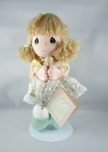 Precious Moments Applause Friendship Line Plush Doll Holding Umbrella Gr... - $12.18