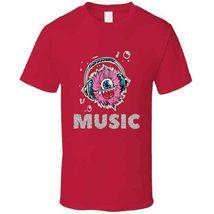 Monster Music Head Phones T Shirt image 9