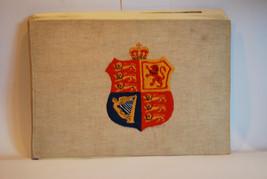 Royal Memorabilia - Lovely Hand Coloured Scrap Book - Queen Elizabeth - ... - £46.87 GBP