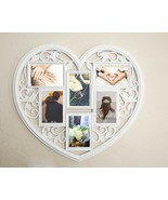 Collage Picture Frame Holds 6 Images Wall Hanging Multiple Family Photos... - $37.57