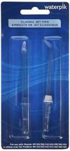 2 Pcs Waterpik Water Flosser Classic Jet Tips Oral Irrigator Replacement Tips US - $14.75