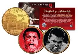 MUHAMMAD ALI Liston Fight/The Greatest Kentucky Quarters 2-Coin Set Gold... - $8.86
