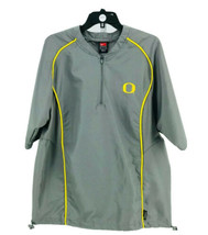 Nike Men's Gray University of Oregon Short Sleeve Athletic Shirt Size Small - $14.85