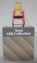 Avon Spring Bunny Collection BUNNY IN ROCKER - $11.75