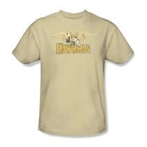 Hawkman T-shirt Free Shipping 80's cartoon DC superhero Super Friends tee DCO176 image 2