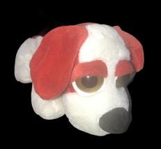 "Russ Berrie Big Eyed Beanbag Puppy Dog Plush Brandson Red White 9"" Stuff... - $34.64"